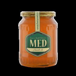 Med z lesních úlů. 950 gramů.