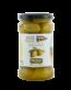 Zelené olivy Bretas s peckou v nálevu 300 gramů.